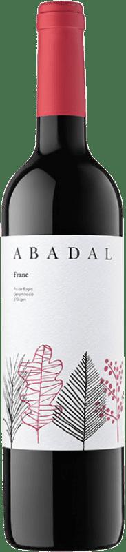8,95 € Envío gratis | Vino tinto Masies d'Avinyó Abadal Franc D.O. Pla de Bages Cataluña España Tempranillo, Cabernet Franc Botella 75 cl