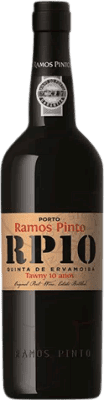 29,95 € Free Shipping   Fortified wine Ramos Pinto Tawny 10 Años Oporto I.G. Porto Portugal Tempranillo, Touriga Franca, Touriga Nacional, Tinta Amarela, Tinta Cão, Tinta Barroca Bottle 75 cl