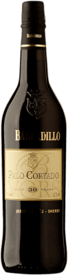 85,95 € Free Shipping | Fortified wine Barbadillo 30 Años Palo Cortado D.O. Jerez-Xérès-Sherry Andalucía y Extremadura Spain Palomino Fino Bottle 75 cl | Thousands of wine lovers trust us to get the best price guarantee, free shipping always and hassle-free shopping and returns.