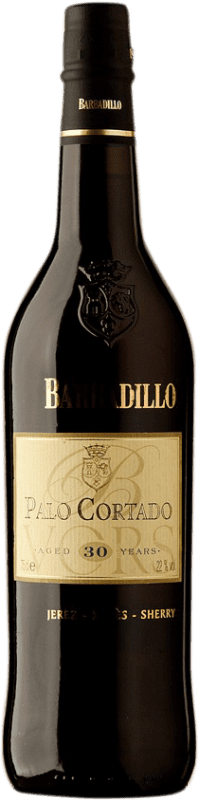 92,95 € Free Shipping | Fortified wine Barbadillo 30 Años Palo Cortado D.O. Jerez-Xérès-Sherry Andalucía y Extremadura Spain Palomino Fino Bottle 75 cl
