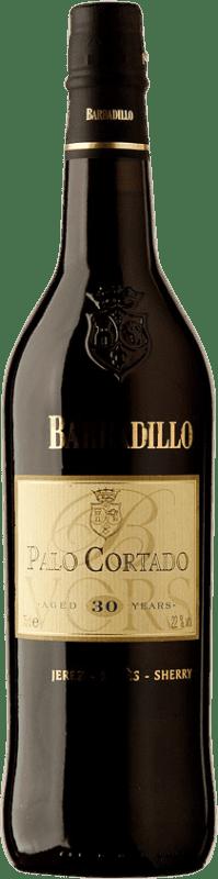 76,95 € Envoi gratuit   Vin fortifié Barbadillo 30 Años Palo Cortado D.O. Jerez-Xérès-Sherry Andalucía y Extremadura Espagne Palomino Fino Bouteille 75 cl
