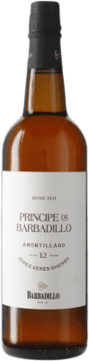 27,95 € Envio grátis | Vinho fortificado Barbadillo Príncipe Amontillado D.O. Jerez-Xérès-Sherry Andalucía y Extremadura Espanha Garrafa 75 cl