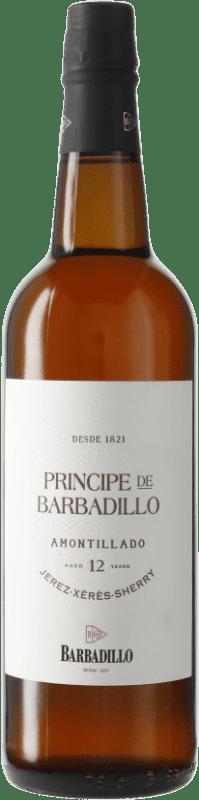 18,95 € Envío gratis   Vino generoso Barbadillo Príncipe Amontillado D.O. Jerez-Xérès-Sherry Andalucía y Extremadura España Botella 75 cl