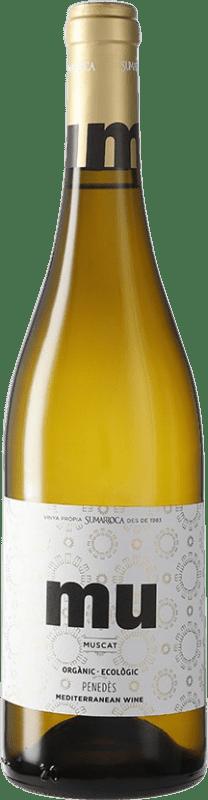 8,95 € Free Shipping | White wine Sumarroca Muscat Blanc Joven D.O. Penedès Catalonia Spain Muscatel Bottle 75 cl