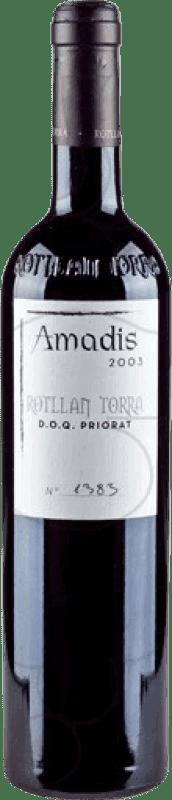 22,95 € Envío gratis | Vino tinto Rotllan Torra Amadis Reserva D.O.Ca. Priorat Cataluña España Merlot, Syrah, Garnacha, Cabernet Sauvignon, Mazuelo, Cariñena Botella 75 cl