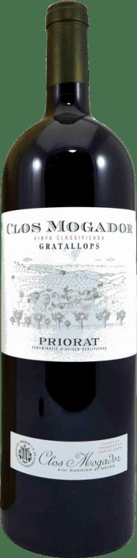 151,95 € Envío gratis | Vino tinto Clos Mogador D.O.Ca. Priorat Cataluña España Syrah, Garnacha, Cabernet Sauvignon, Mazuelo, Cariñena Botella Mágnum 1,5 L