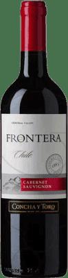 4,95 € Envío gratis | Vino tinto Concha y Toro Frontera Chile Cabernet Sauvignon Botella 75 cl