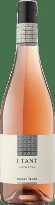 6,95 € Free Shipping | Rosé wine Edetària I Tant Joven D.O. Terra Alta Catalonia Spain Grenache Bottle 75 cl
