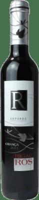 4,95 € Kostenloser Versand | Rotwein Oliveda Rigau Ros Negre Crianza D.O. Empordà Katalonien Spanien Tempranillo, Grenache, Cabernet Sauvignon Halbe Flasche 37 cl