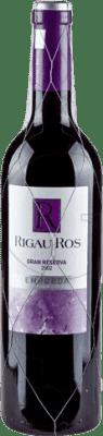 8,95 € Envío gratis | Vino tinto Oliveda Rigau Ros Negre Gran Reserva D.O. Empordà Cataluña España Tempranillo, Garnacha, Cabernet Sauvignon Botella 75 cl