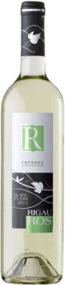 5,95 € Free Shipping | White wine Oliveda Rigau Ros Joven D.O. Empordà Catalonia Spain Macabeo, Chardonnay, Sauvignon White Bottle 75 cl