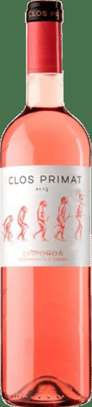 3,95 € Spedizione Gratuita | Vino rosato Oliveda Clos Primat Joven D.O. Empordà Catalogna Spagna Grenache, Cabernet Sauvignon, Mazuelo, Carignan Bottiglia 75 cl