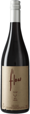 13,95 € Free Shipping | Red wine Sota els Àngels Flow Crianza D.O. Empordà Catalonia Spain Merlot, Mazuelo, Carignan, Picapoll Bottle 75 cl