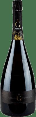 52,95 € Free Shipping | White sparkling Torelló Brut Nature Gran Reserva D.O. Cava Catalonia Spain Macabeo, Xarel·lo, Parellada Magnum Bottle 1,5 L