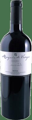 55,95 € Envío gratis | Vino tinto Marqués de Vargas Reserva Privada Reserva 2005 D.O.Ca. Rioja La Rioja España Tempranillo, Garnacha, Mazuelo, Cariñena Botella Mágnum 1,5 L