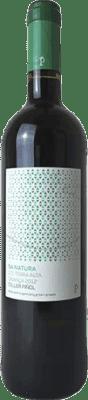 9,95 € Kostenloser Versand | Rotwein Piñol Sa Natura Crianza D.O. Terra Alta Katalonien Spanien Merlot, Syrah, Mazuelo, Carignan, Petit Verdot Flasche 75 cl