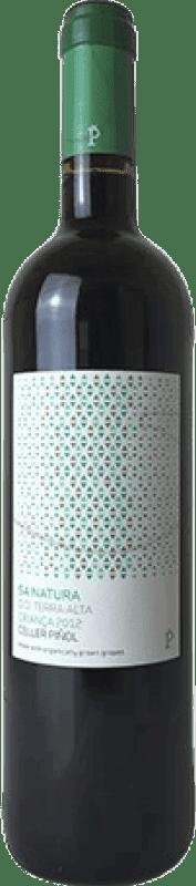 9,95 € Envoi gratuit | Vin rouge Piñol Sa Natura Crianza D.O. Terra Alta Catalogne Espagne Merlot, Syrah, Mazuelo, Carignan, Petit Verdot Bouteille 75 cl