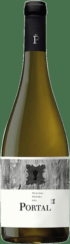 7,95 € Free Shipping | White wine Piñol Nostra Senyora del Portal Joven D.O. Terra Alta Catalonia Spain Grenache White, Viognier, Macabeo, Sauvignon White Bottle 75 cl