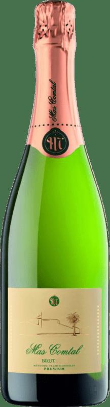 9,95 € Free Shipping | White sparkling Mas Comtal Brut Reserva D.O. Penedès Catalonia Spain Xarel·lo, Chardonnay Bottle 75 cl