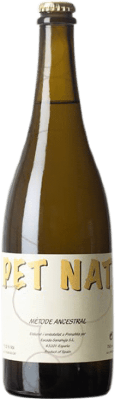 18,95 € Free Shipping | White sparkling Escoda Sanahuja Pet Nat Ancestral Catalonia Spain Sumoll, Parellada Bottle 75 cl