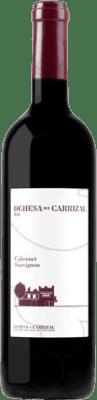 9,95 € Envío gratis | Vino tinto Dehesa del Carrizal Crianza D.O.P. Vino de Pago Dehesa del Carrizal Castilla la Mancha y Madrid España Cabernet Sauvignon Botella 75 cl