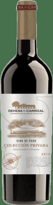 39,95 € Free Shipping | Red wine Dehesa del Carrizal Colección Privada Crianza D.O.P. Vino de Pago Dehesa del Carrizal Castilla la Mancha y Madrid Spain Merlot, Syrah, Cabernet Sauvignon, Petit Verdot Magnum Bottle 1,5 L