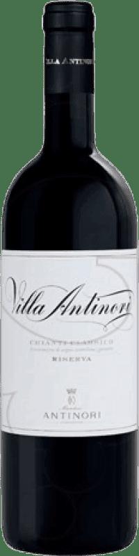 48,95 € Envío gratis | Vino tinto Pèppoli Villa Antinori Crianza D.O.C.G. Chianti Classico Italia Cabernet Sauvignon, Sangiovese Botella Mágnum 1,5 L