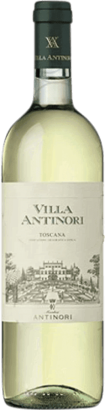 11,95 € Envío gratis | Vino blanco Pèppoli Villa Antinori Joven Otras D.O.C. Italia Italia Malvasía, Trebbiano, Riesling, Pinot Gris, Pinot Blanco Botella 75 cl