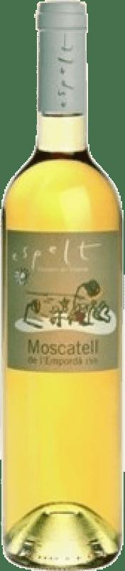 8,95 € Free Shipping | Fortified wine Espelt D.O. Empordà Catalonia Spain Muscat Bottle 75 cl