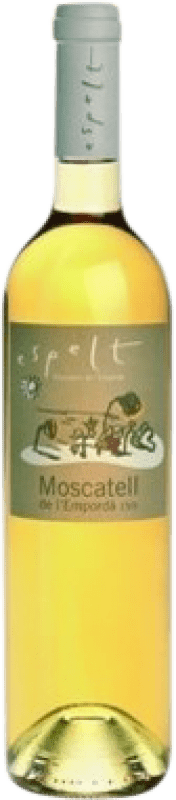 9,95 € Free Shipping | Fortified wine Espelt D.O. Empordà Catalonia Spain Muscatel Bottle 75 cl