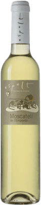 7,95 € Free Shipping | Fortified wine Espelt D.O. Empordà Catalonia Spain Muscatel Half Bottle 50 cl