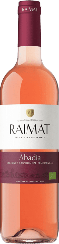 5,95 € Envoi gratuit | Vin rose Raimat Rosada Joven D.O. Costers del Segre Catalogne Espagne Tempranillo, Cabernet Sauvignon Bouteille 75 cl