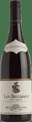 88,95 € Free Shipping | Red wine Chapoutier Les Bécasses A.O.C. Côte-Rôtie France Syrah Bottle 75 cl
