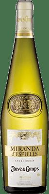 9,95 € Free Shipping   White wine Juvé y Camps Miranda d'Espiells Crianza D.O. Penedès Catalonia Spain Chardonnay Bottle 75 cl