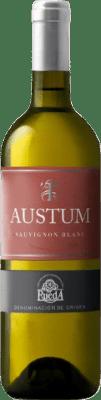 7,95 € Free Shipping | White wine Tionio Austum Joven D.O. Rueda Castilla y León Spain Sauvignon White Bottle 75 cl