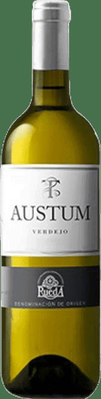 15,95 € Free Shipping | White wine Tionio Austum Joven D.O. Rueda Castilla y León Spain Verdejo Magnum Bottle 1,5 L
