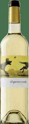 9,95 € Free Shipping | White wine Uvas Felices El Perro Verde Joven D.O. Rueda Castilla y León Spain Verdejo Bottle 75 cl