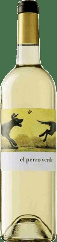 9,95 € Envoi gratuit | Vin blanc Uvas Felices El Perro Verde Joven D.O. Rueda Castille et Leon Espagne Verdejo Bouteille 75 cl