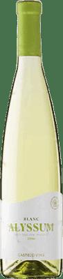 7,95 € Free Shipping | White wine Pedregosa Alyssum Joven D.O. Penedès Catalonia Spain Muscatel, Xarel·lo Bottle 75 cl