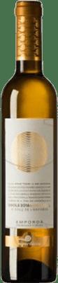 11,95 € Envio grátis | Vinho fortificado Empordàlia Sinols D.O. Empordà Catalunha Espanha Mascate Meia Garrafa 50 cl