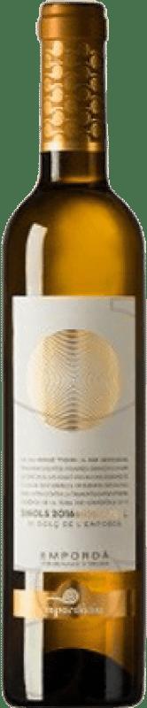 9,95 € Free Shipping | Fortified wine Empordàlia Sinols D.O. Empordà Catalonia Spain Muscatel Half Bottle 50 cl