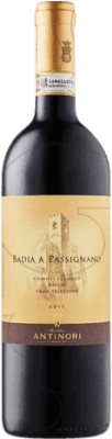 89,95 € Free Shipping | Red wine Badia a Passignano Antinori D.O.C.G. Chianti Italy Sangiovese Magnum Bottle 1,5 L