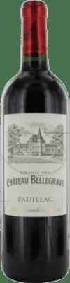 33,95 € Free Shipping | Red wine Château Belgrave Bellegrave Crianza A.O.C. Bordeaux France Merlot, Cabernet Sauvignon Bottle 75 cl