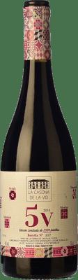 24,95 € Free Shipping | Red wine Lagar de Isilla La Casona de la Vid 5V I.G.P. Vino de la Tierra de Castilla y León Castilla y León Spain Tempranillo, Merlot, Syrah, Grenache, Cabernet Sauvignon Bottle 75 cl