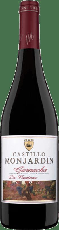 6,95 € Free Shipping | Red wine Castillo de Monjardín D.O. Navarra Navarre Spain Grenache Bottle 75 cl