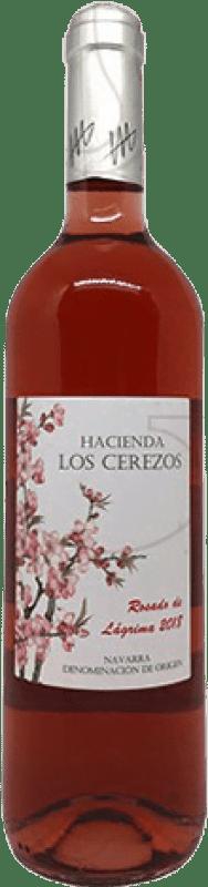 6,95 € Free Shipping | Rosé wine Castillo de Monjardín Finca las Rosas Joven D.O. Navarra Navarre Spain Tempranillo, Cabernet Franc Bottle 75 cl