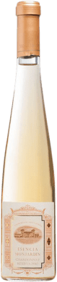 56,95 € Envio grátis | Vinho fortificado Castillo de Monjardín Esencia de Monjardin 2010 D.O. Navarra Navarra Espanha Chardonnay Meia Garrafa 37 cl