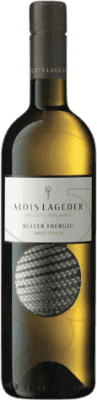 16,95 € Free Shipping | White wine Lageder Joven Otras D.O.C. Italia Italy Müller-Thurgau Bottle 75 cl