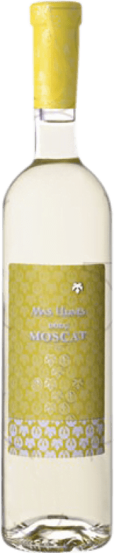 9,95 € Free Shipping | Fortified wine Mas Llunes Dolç Moscat Sweet D.O. Empordà Catalonia Spain Muscatel Bottle 75 cl