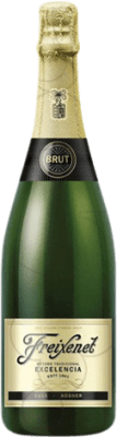 8,95 € Free Shipping | White sparkling Freixenet Excelencia Kósher Brut Reserva D.O. Cava Catalonia Spain Macabeo, Xarel·lo, Parellada Bottle 75 cl | Thousands of wine lovers trust us to get the best price guarantee, free shipping always and hassle-free shopping and returns.